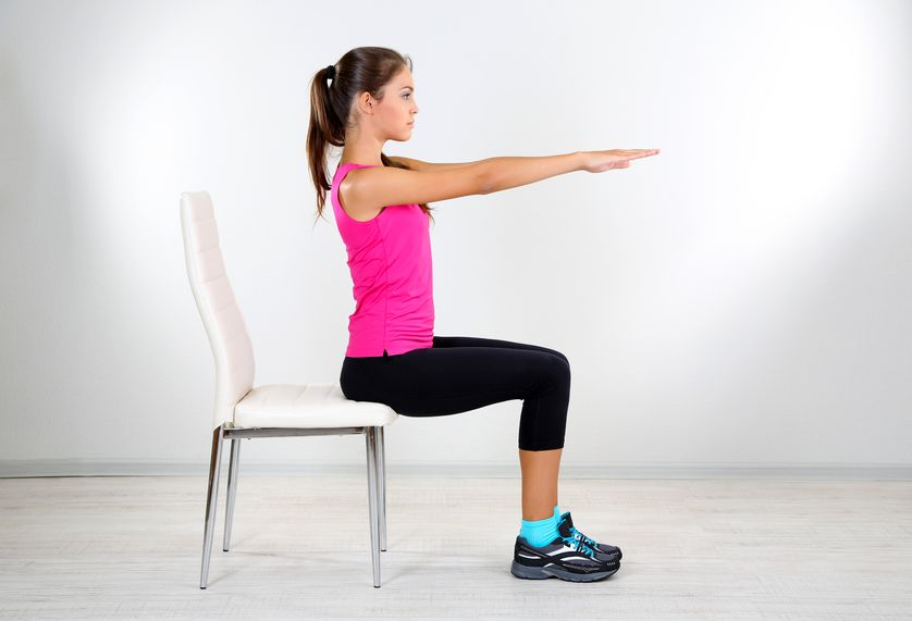 Five Yoga Poses to do from your Chair